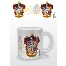 HARRY POTTER - GRYFFINDOR CREST MUGG