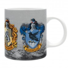 Harry Potter Mugg 4 Houses