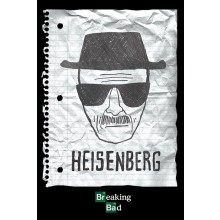BREAKING BAD HEISENBERG WANTED POSTER