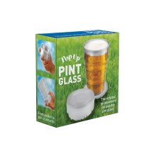 Hopfällbart Ölglas
