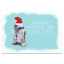 Merry Force be with you - julkort