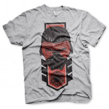 Star Wars Kylo Ren Distressed T-Shirt