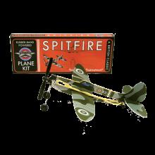 Gummiband Flygplan Spitfire