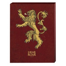 Game of Thrones Canvas Lannister 40 x 50 cm