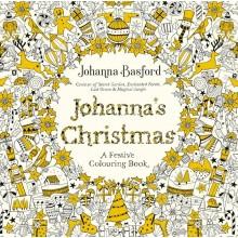 Målarbok för Vuxna Johanna's Christmas