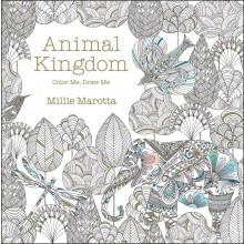 Målarbok för Vuxna Animal Kingdom