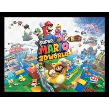 SUPER MARIO (3D WORLD) POSTER