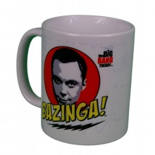 Big Bang Theory Sheldon Bazinga Mugg