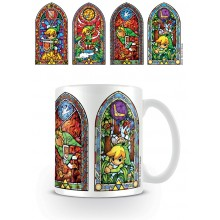 Zelda Mugg Stained Glass