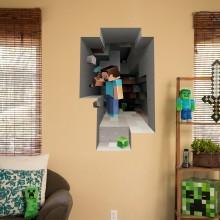 Minecraft Väggdekal