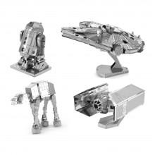 STAR WARS 3D METAL MODEL KITS