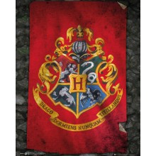 Harry Potter Poster Howarts Flagga