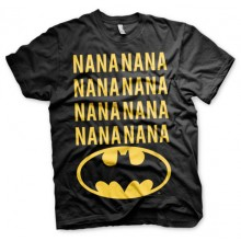 NaNa Batman T-Shirt (Svart)