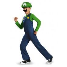 Luigi Maskeraddräkt Barn