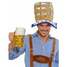 Oktoberfest öltunna hatt