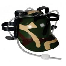 Camouflage Drickahjälm