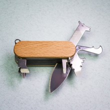 Schweizisk armékniv Djur
