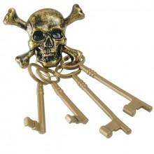 Nycklar Pirat Dödskalle