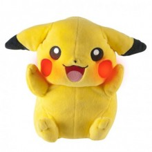 Pokemon Pikachu Mjukisdjur Med Effekter 20 cm