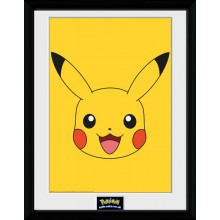 Pokémon Pikachu Poster Inramad