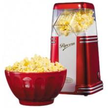 Retro Popcornmaskin Röd/Vit