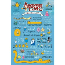 Adventure Time Poster 61 x 91,5 cm