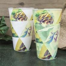 Zelda Hyrule Färgskiftande Glas