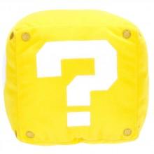 Super Mario Question Mark Box Kudde Med Ljud