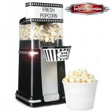 Retro Popcornmaskin Svart/Vit