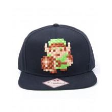 Zelda Snapback Link 8-bitar
