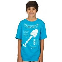 Minecraft Shovel Diagram T-shirt Barn