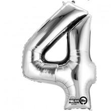 Sifferballong Silver 4