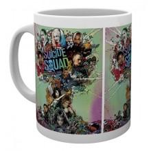 Suicide Squad Mugg Color Explosion