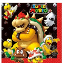 Servetter Super Mario 16-pack