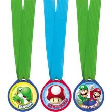 Super Mario Medaljer 12-pack
