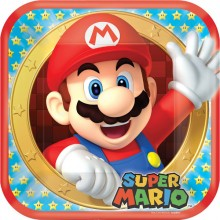 Tallrikar Deluxe Super Mario 8-pack