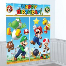 Väggdekoration Deluxe Super Mario