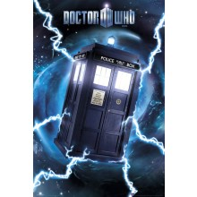 DR WHO - TARDIS FOLIE POSTER