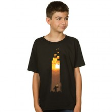 Minecraft Torch T-shirt Barn