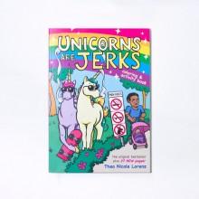 Unicorns Are Jerks Målarbok För Vuxna