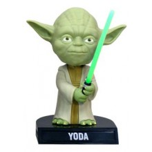 Star Wars Wacky Wobbler Bobble-Head Yoda 14 cm