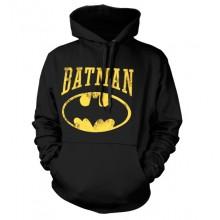 Vintage Batman Hoodie (Svart)