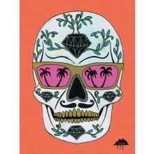 Schubert the Sugar Skull Canvas 60 x 80 cm