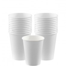 Pappersmugg Vita 20-pack