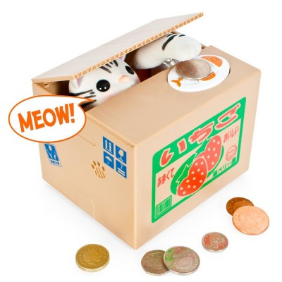 Kitty Coin Bank
