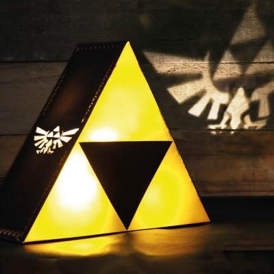 Zelda Triforce Lampa
