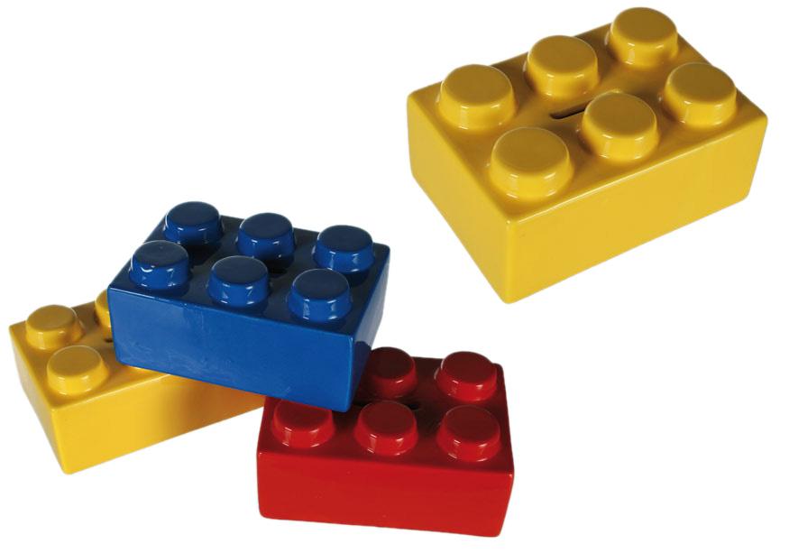 Sparbössa Färglad byggblock