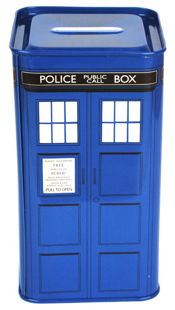 Doctor Who Tardis Sparbössa