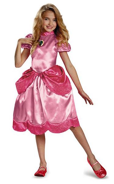 Princess Peach Maskeraddräkt Barn