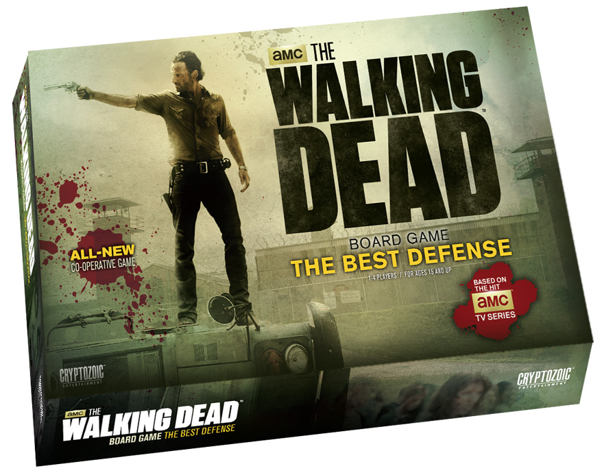 Walking Dead Board Game: The Best Defence